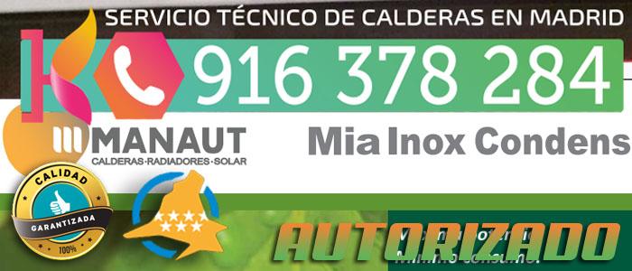 Error e01 en calderas manaut mia inox condens for Servicio de calderas