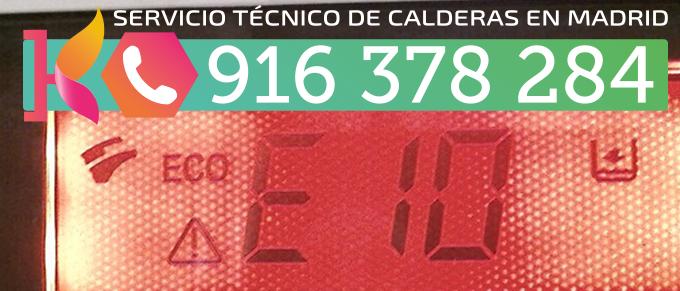 Error E10 Caldera BaxiRoca