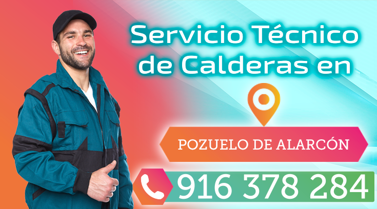 Servicio tecnico de calderas en Pozuelo de Alarcon
