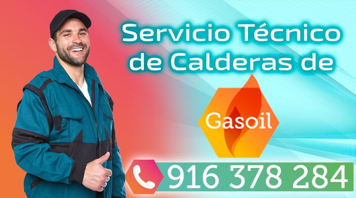 Servicio tecnico de calderas de gasoil en Madrid