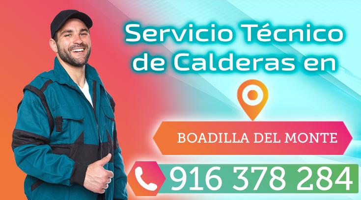 Servicio tecnico de calderas en Boadilla
