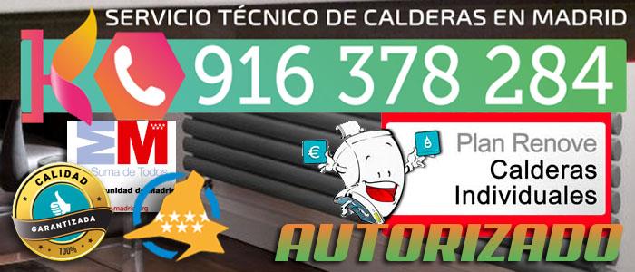 Plan Renove de Calderas 2015 en Madrid. Servicio Tecnico Autorizado.