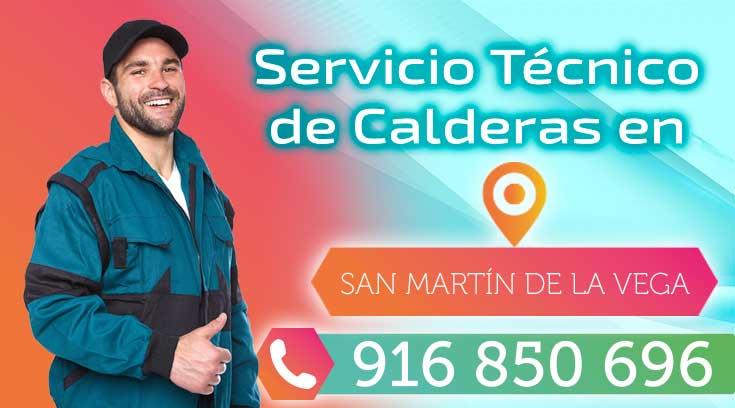 Servicio tecnico de calderas en San Martin de la Vega