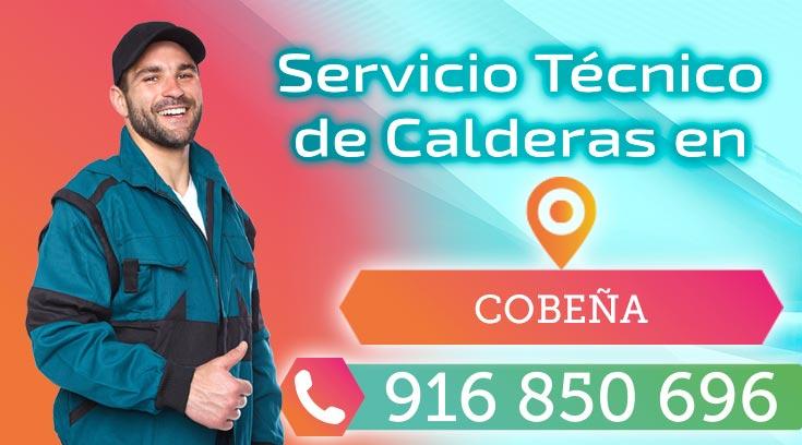 Servicio tecnico de calderas en Cobeña.