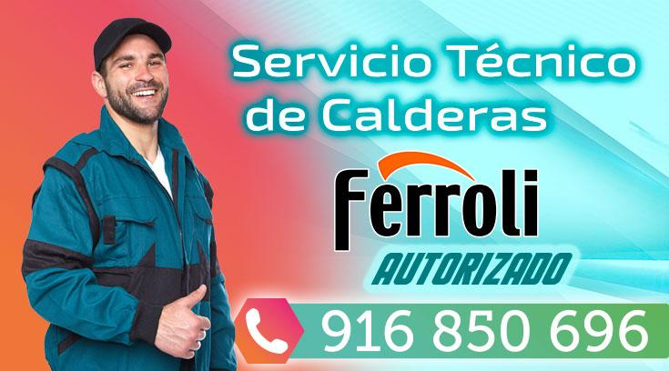 Servicio tecnico Ferroli Fuenlabrada