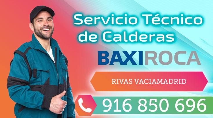 Servicio tecnico BaxiRoca Rivas Vaciamadrid