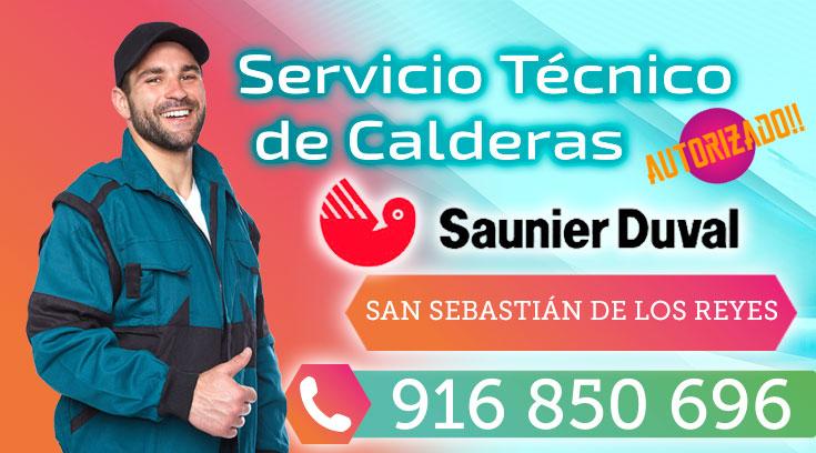 Servicio tecnico Saunier Duval San Sebastian de los Reyes