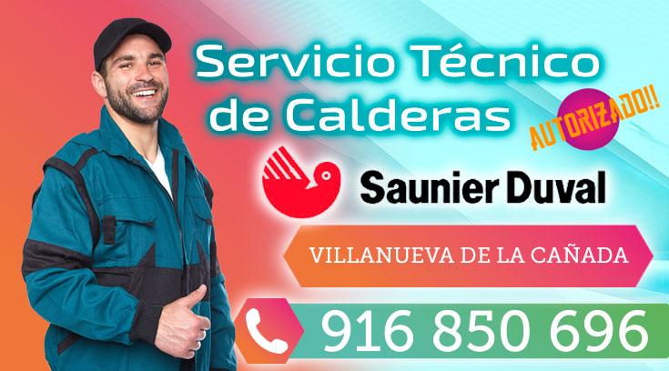 Servicio tecnico Saunier Duval Villanueva de la Cañada