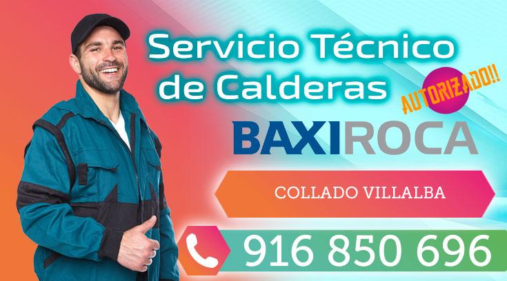 Servicio tecnico BaxiRoca Collado Villalba