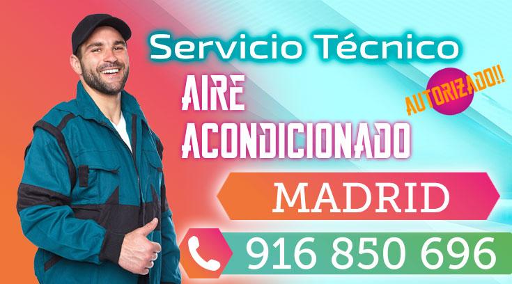 Servicio tecnico Aire acondicionado Madrid