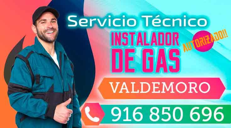 Instalador de gas autorizado Valdemoro