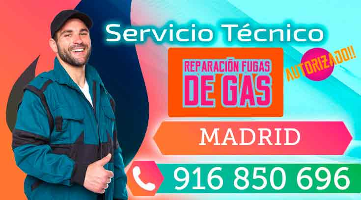 Reparacion Fugas de Gas Natural Madrid