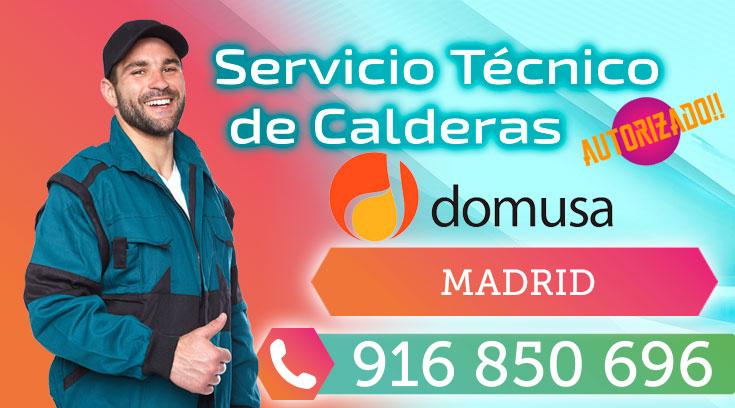 Servicio tecnico Calderas Domusa Madrid