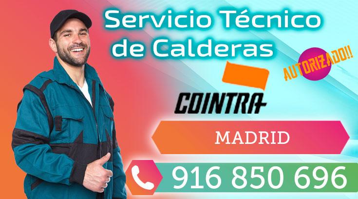 Servicio tecnico Calderas Cointra Madrid