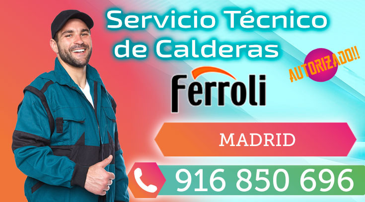 Servicio tecnico Calderas Ferroli Madrid