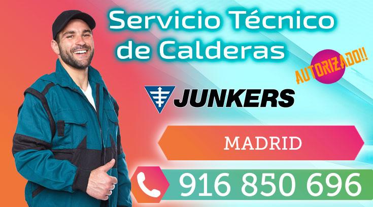 Servicio tecnico Calderas Junkers Madrid