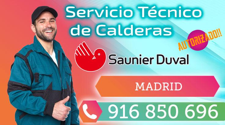 Servicio tecnico calderas Saunier Duval Madrid