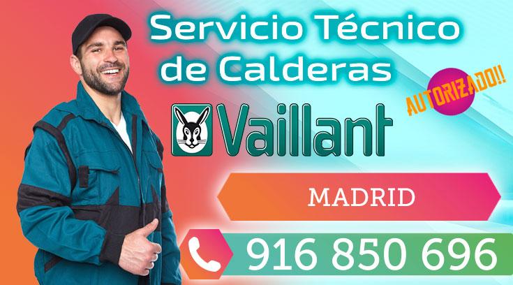 Servicio tecnico calderas Vaillant Madrid