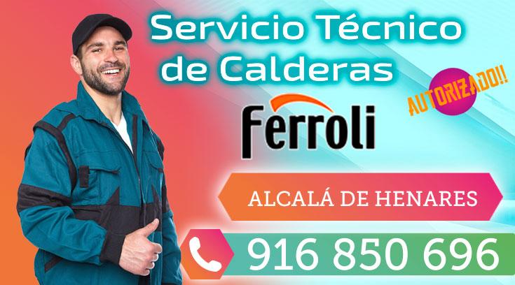 Servicio Técnico Calderas Ferroli en Alcalá de Henares