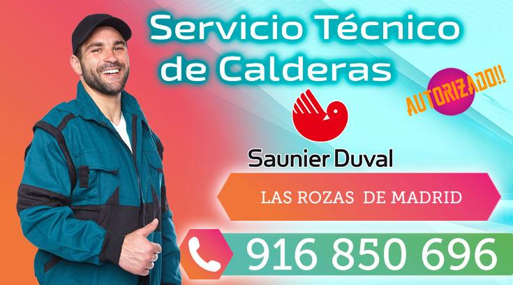 Servicio Técnico Calderas Saunier Duval en Las Rozas de Madrid