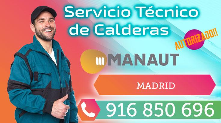 Servicio Técnico Calderas Manaut en Madrid
