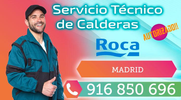 Servicio Técnico Calderas Roca en Madrid