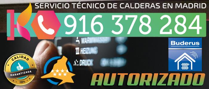 Calderas de gas Buderus Madrid. Servicio Tecnico.