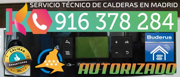 Servicio Técnico de calderas de gas Buderus en Madrid