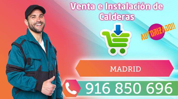 Instalación y venta de calderas en Madrid