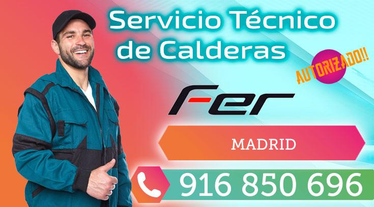 Servicio Técnico Calderas Fer en Madrid