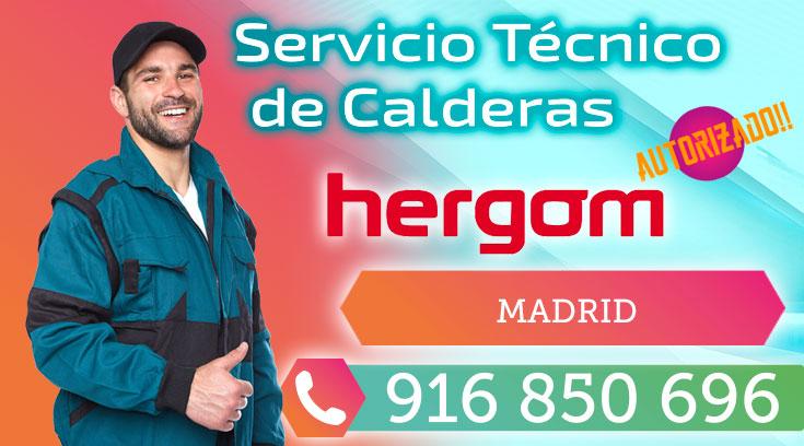 Servicio Técnico Calderas y Estufas Hergom en Madrid