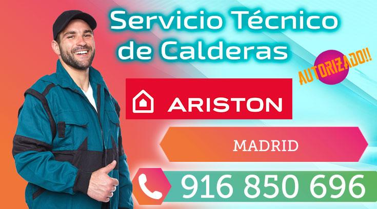 Servicio Técnico Termos y Calderas Ariston en Madrid