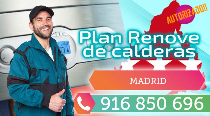 Plan Renove de Calderas en Madrid