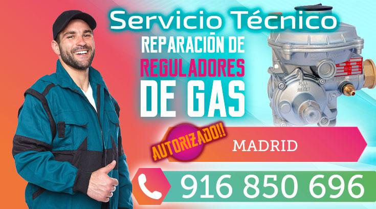 reparación regulador  Gas Natural en Madrid