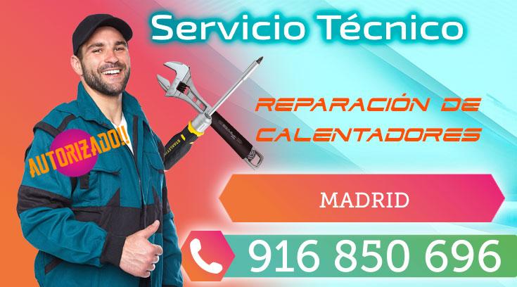 Servicio Técnico y reparación de calentadores en Madrid