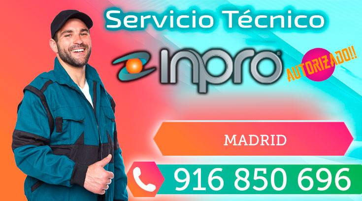 Servicio técnico grupos Inpro en Madrid
