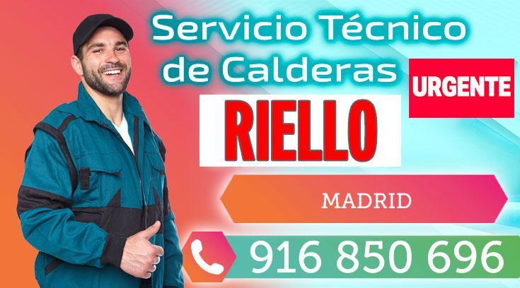 Servicio Técnico Quemadores y Calderas Riello en Madrid